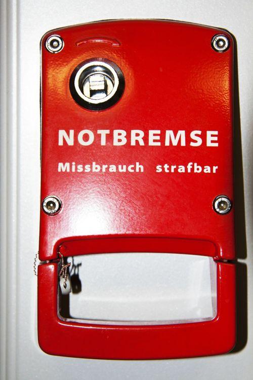emergency brake technical device immediate braking