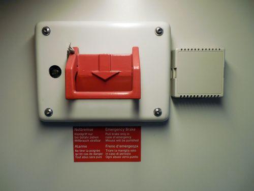 emergency brake brake security