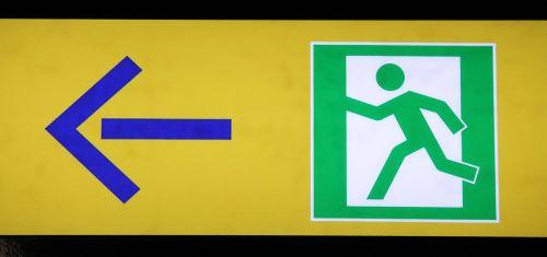 emergency exit escape route rescue