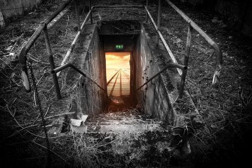 emergency exit exit escape route