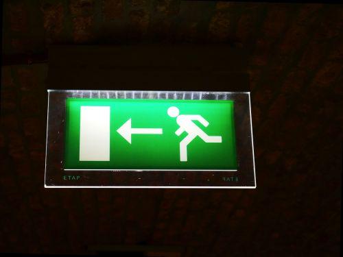 emergency exit output escape