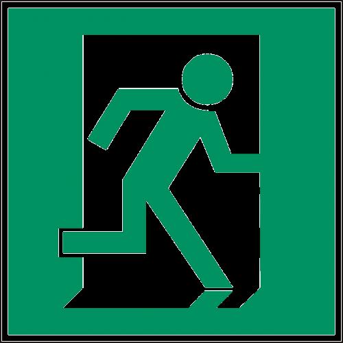 emergency exit exit door