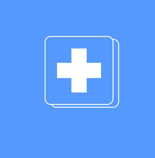 emergency icon  icon  blue