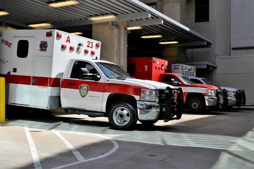 emergency room  hospital  ambulance