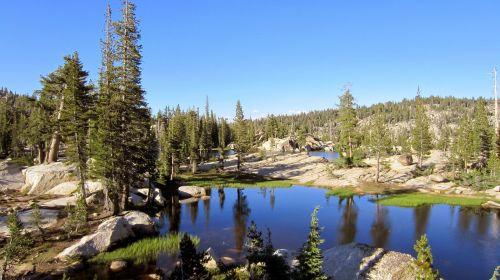 emigrant wilderness mountain lake sierra mountains