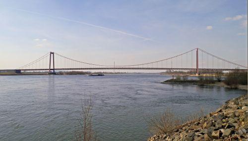 emmerich niederrhein last rhine bridge