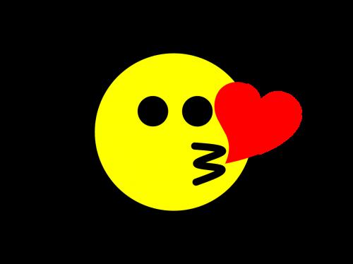 emoji kiss icon