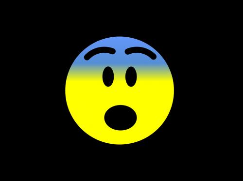 emoji scared emoticon