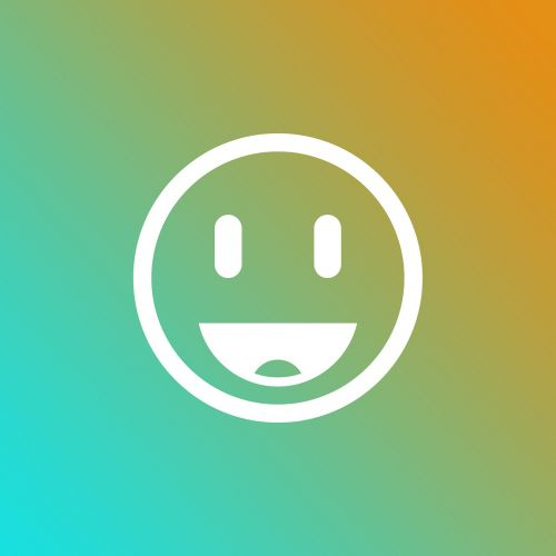 emoji gradient smile