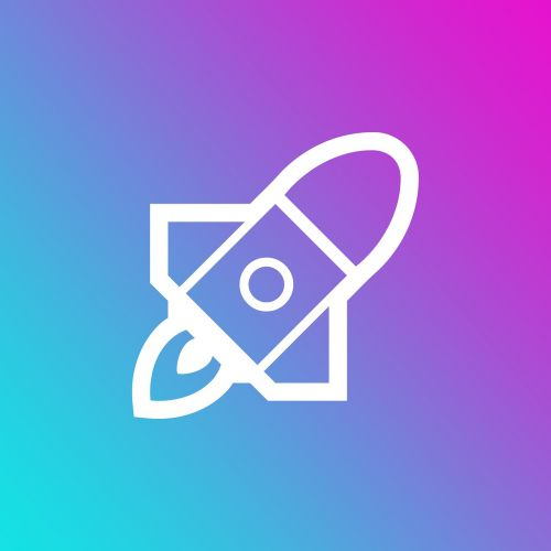emoji gradient rocket