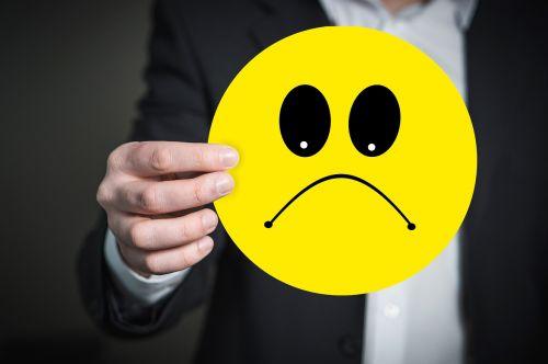 emoji smiley bad mood