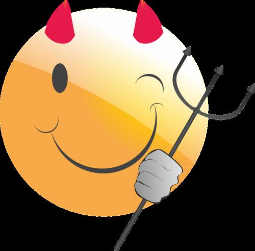 emoticon smiley devil