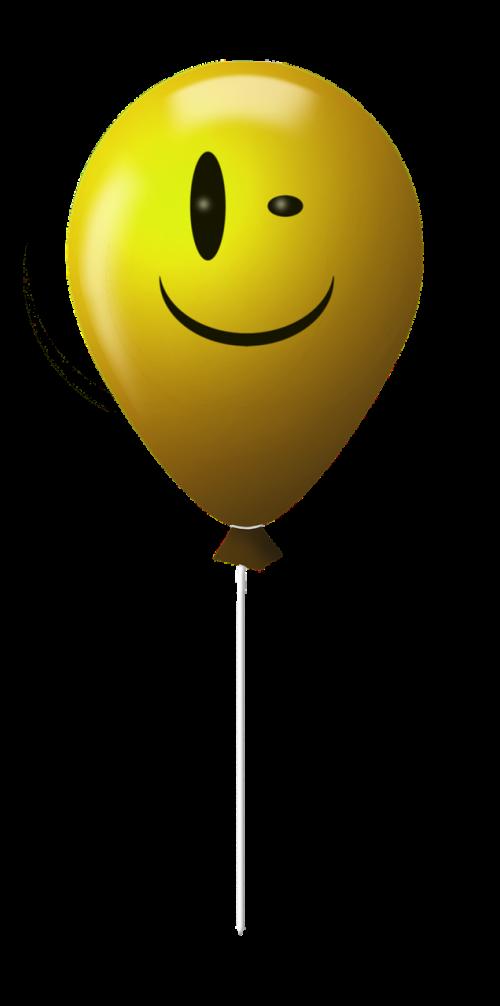 emoticon balloon smile