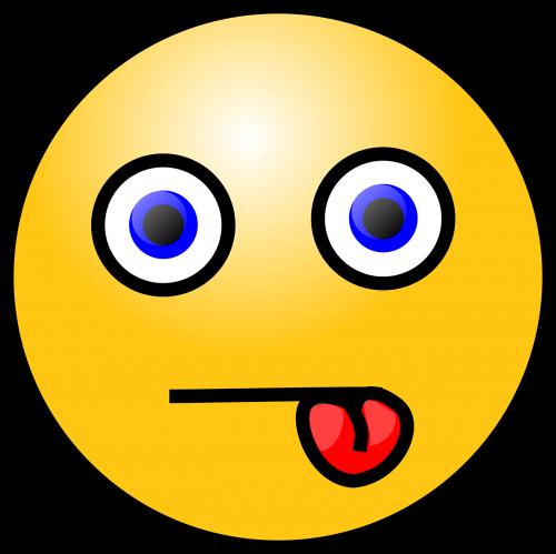 emoticon tongue sticking