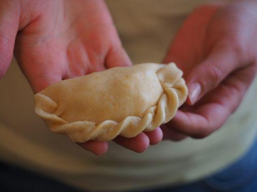 empanada pastry bag food