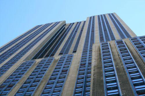empire state building new york manhattan