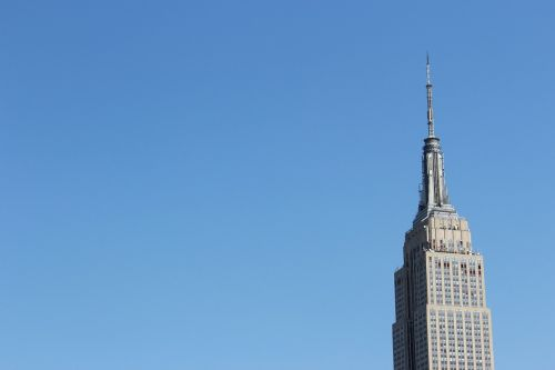 empire state building nyc sky