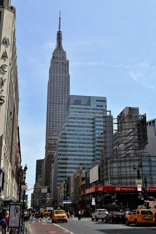 empire state building new york city manhattan