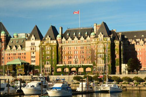 empress hotel victoria inner harbor