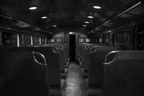 empty public transportation seats