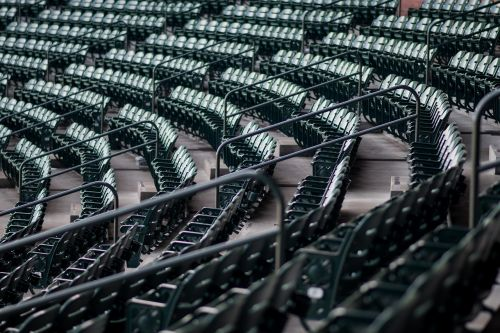 empty pattern railings