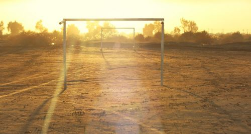 empty goals football