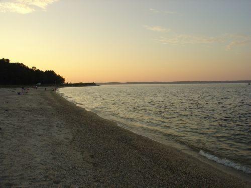 empty beach seashore coast
