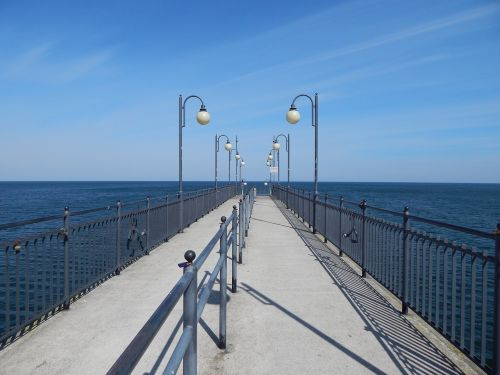 empty pier pier sea