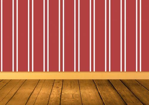 Empty Room Wood Flooring