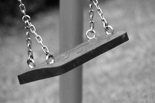 empty swing  swinging  depopulation