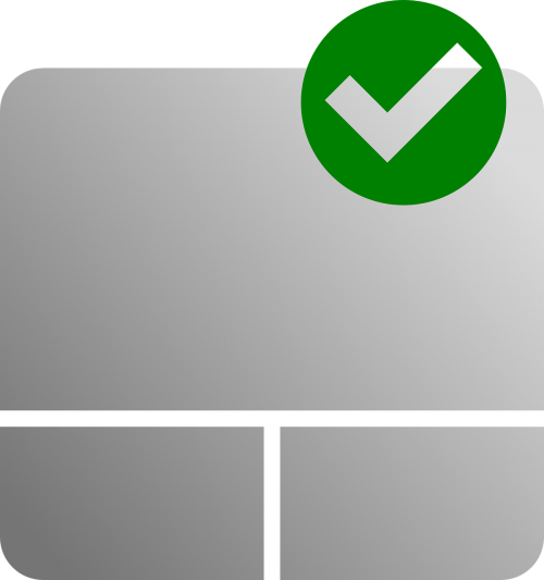enabled check touchpad