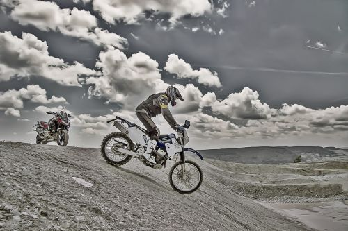 enduro motorbike training