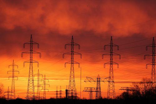 energy revolution current evening sun