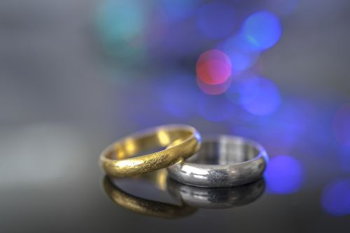 engagement wedding bokeh