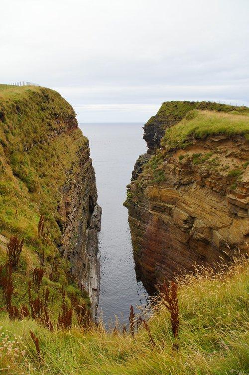enge  cliffs  landscape