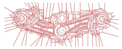 engine schematic drawing