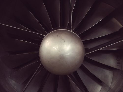 engine plane propeller