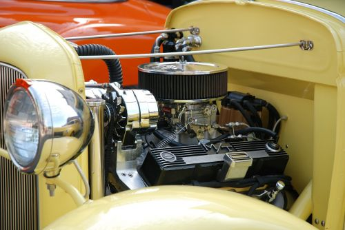 engine hot rod collector