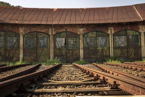 engine depot locomotive