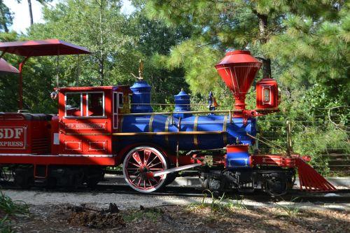 engine cab herman park train