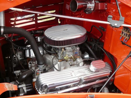 engine compartment automotive american