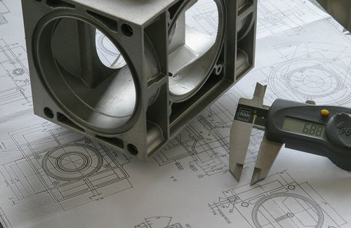 engineer  drawing  blueprint