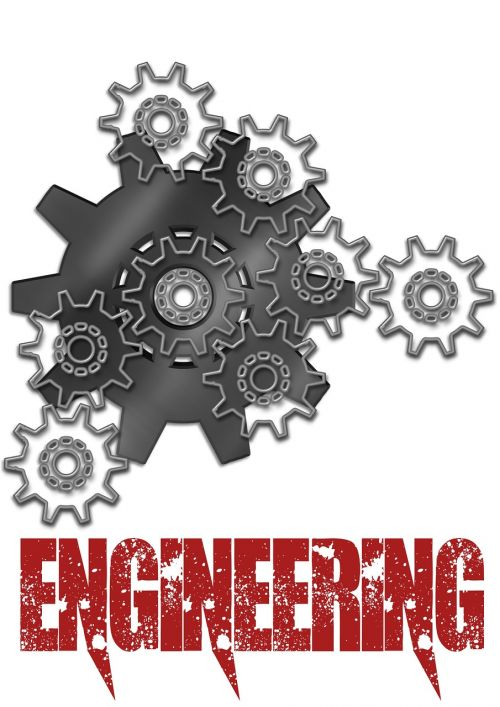 engineering gears poster