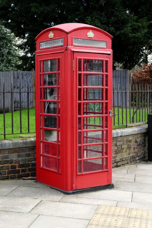 england phone booth dispensary