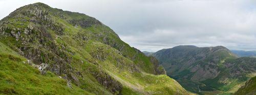 england mountains pillar