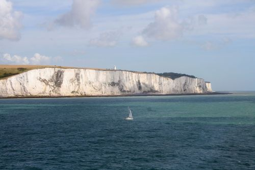 england chalk cliffs sea