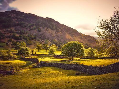 england hills landscape