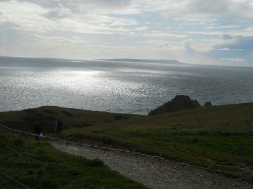 england coastal path sea