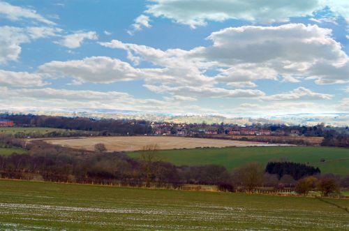 England Spring Landscape