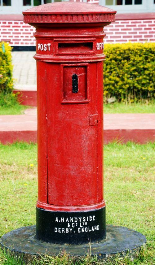 english postbox india